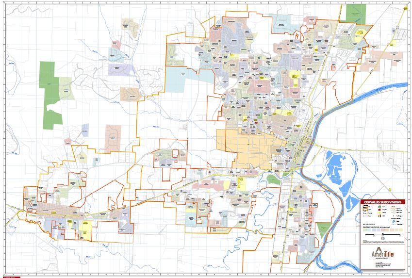 Corvallis Neighborhood Map Arianas Corvallis Real Estate Blog